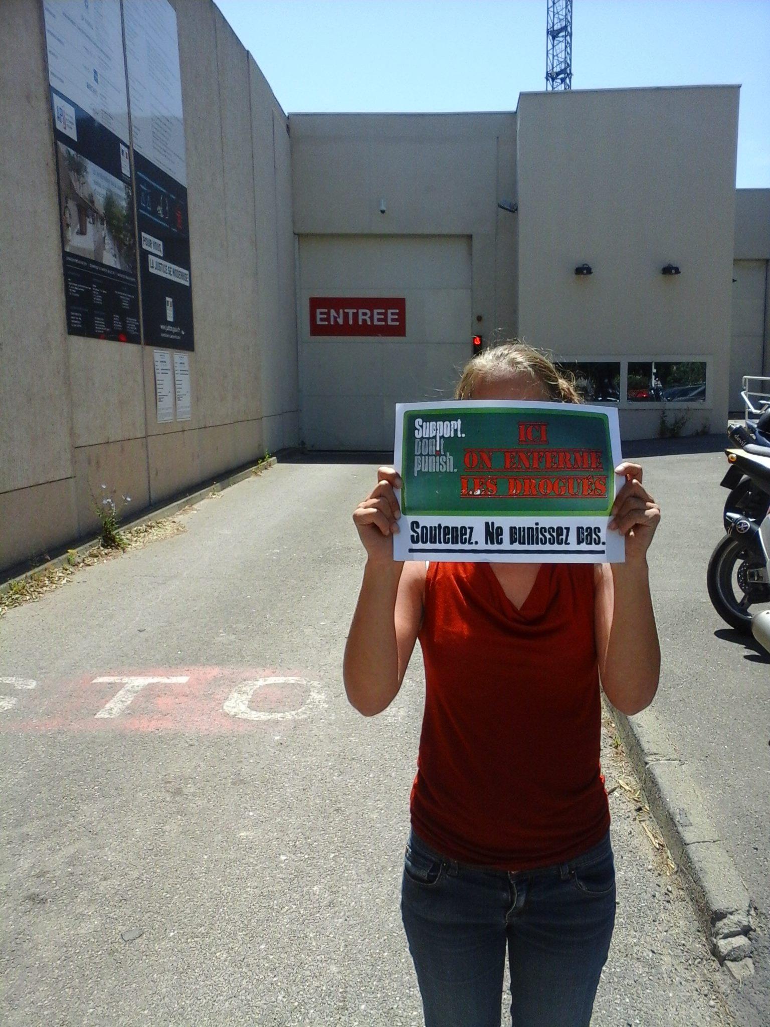 Prison des Beaumettes à Marseille
